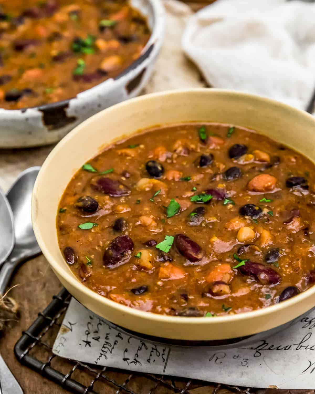 Served Easy Calico Bean Soup