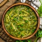 Bowl of Spring Pea Soup