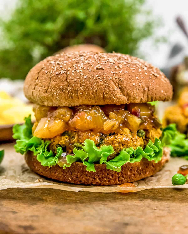 Vegan Curry Burger