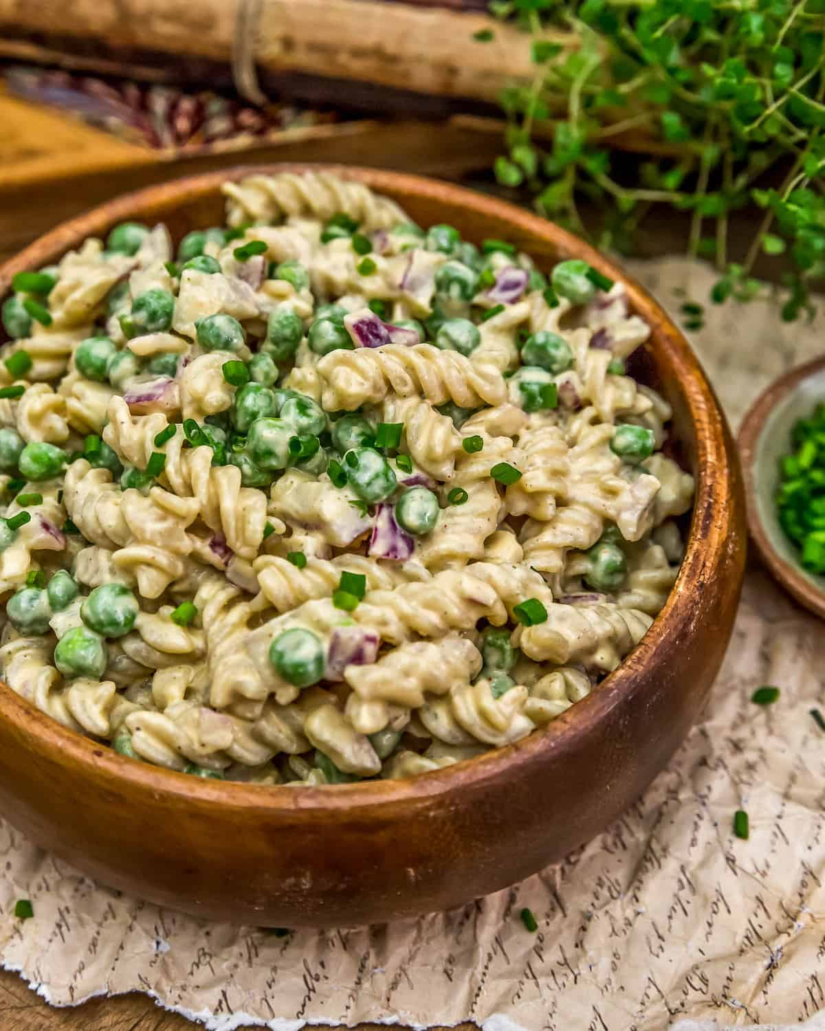 Vegan Crack Pasta Salad