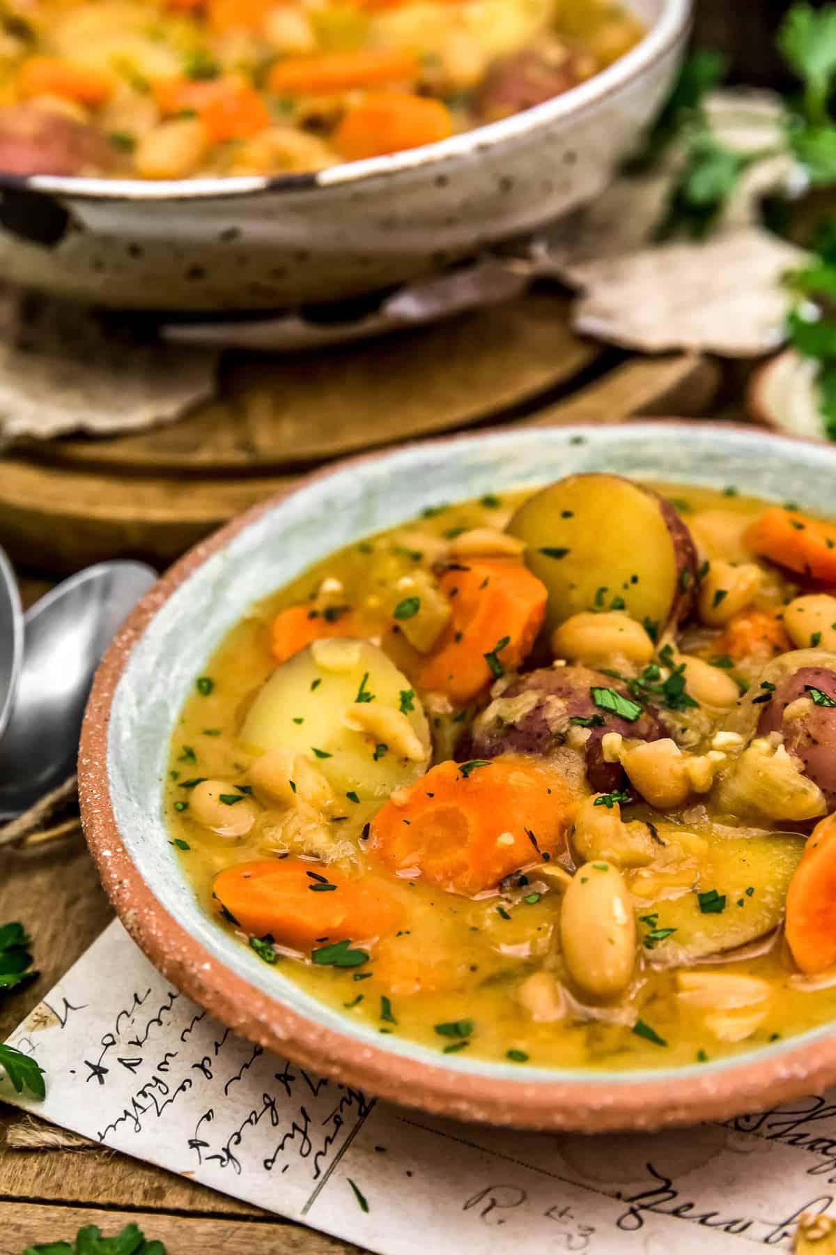French Thyme White Bean Potato Stew