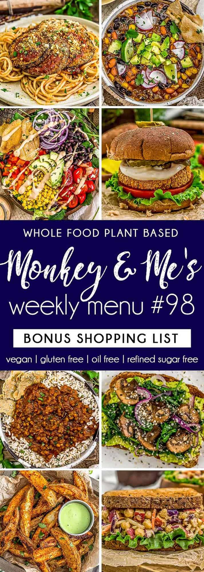 Monkey and Me's Menu 98 featuring 8 recipes