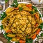 Instant Pot Thanksgiving Cauliflower Center Piece