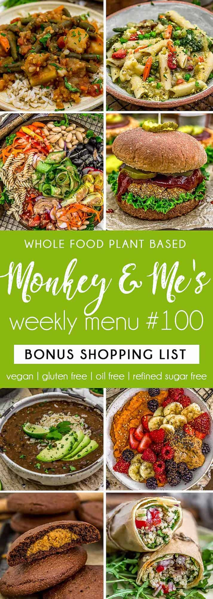 Monkey and Me's Menu 100 featuring 8 recipes