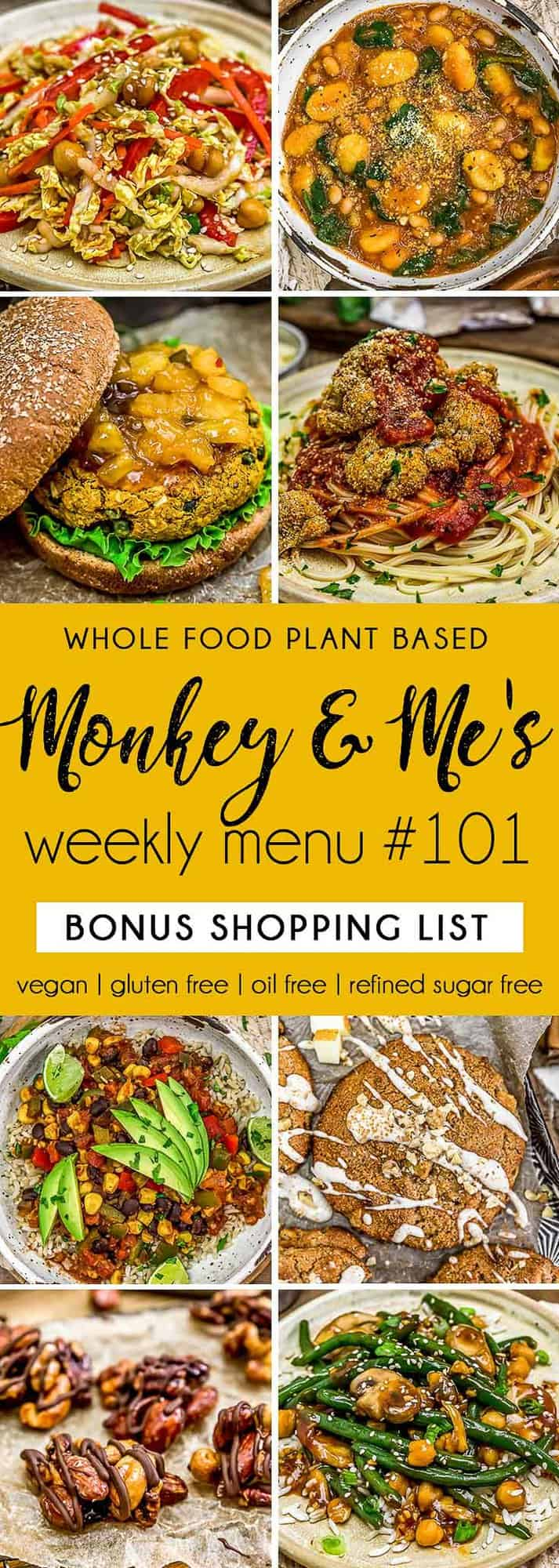 Monkey and Me's Menu 101 featuring 8 recipes