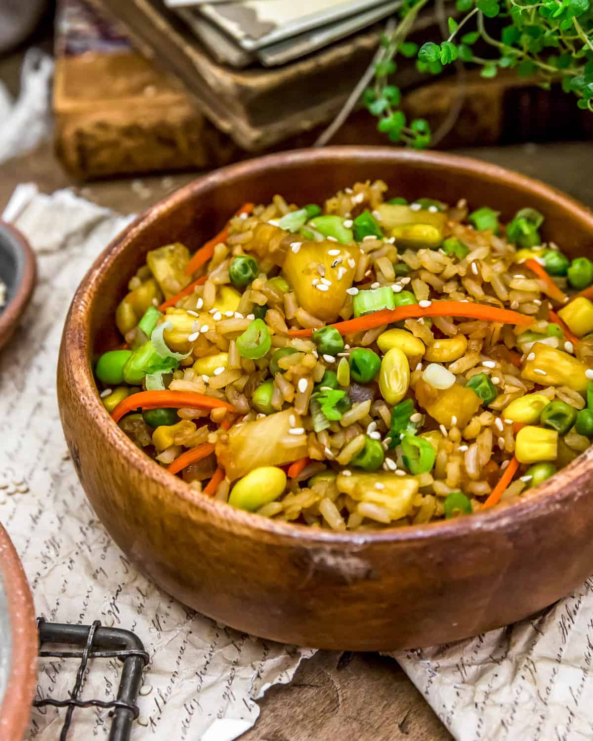 Bowl of Pineapple Fried Rice