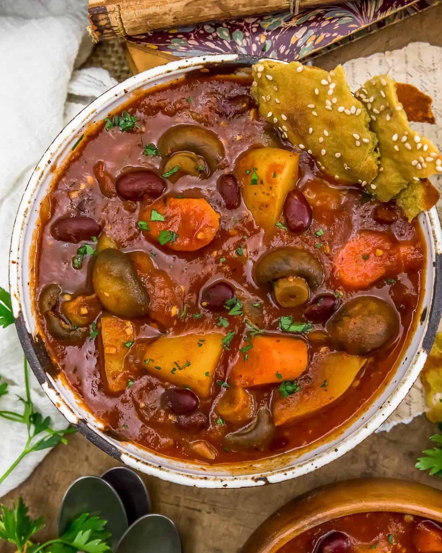 Rustic Braised Vegetable Stew