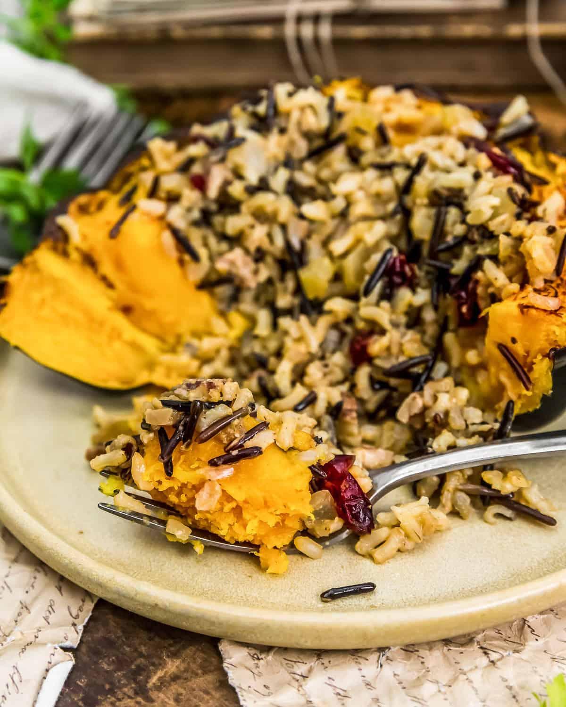 Eating Vegan Wild Rice Stuffing