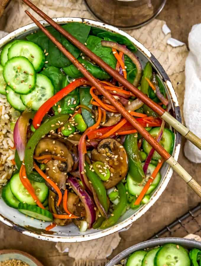 Asian Veggie Bowl