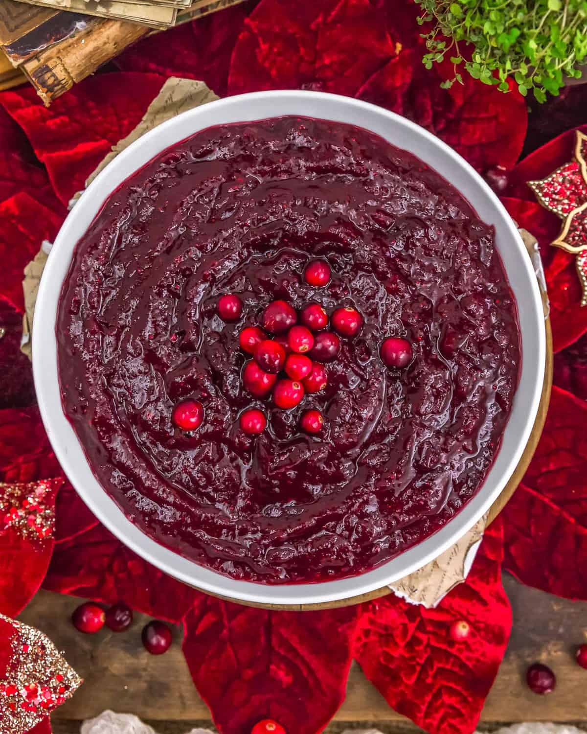 Thanksgiving Simple Cranberry Sauce
