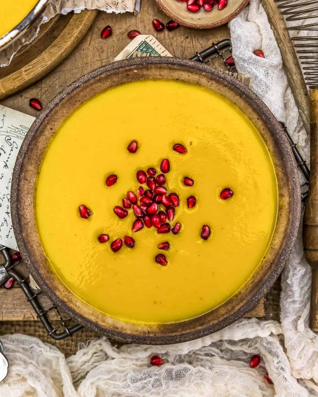 Bowl of Vegan Creamy Autumn Soup