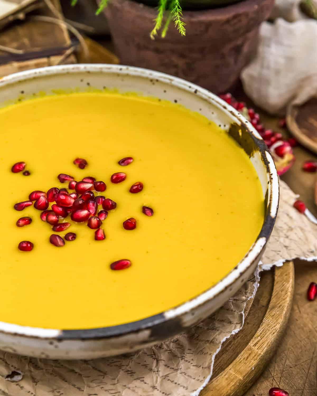 Vegan Creamy Autumn Soup