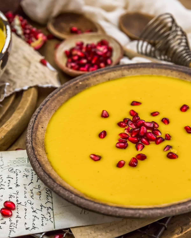 Served Vegan Creamy Autumn Soup