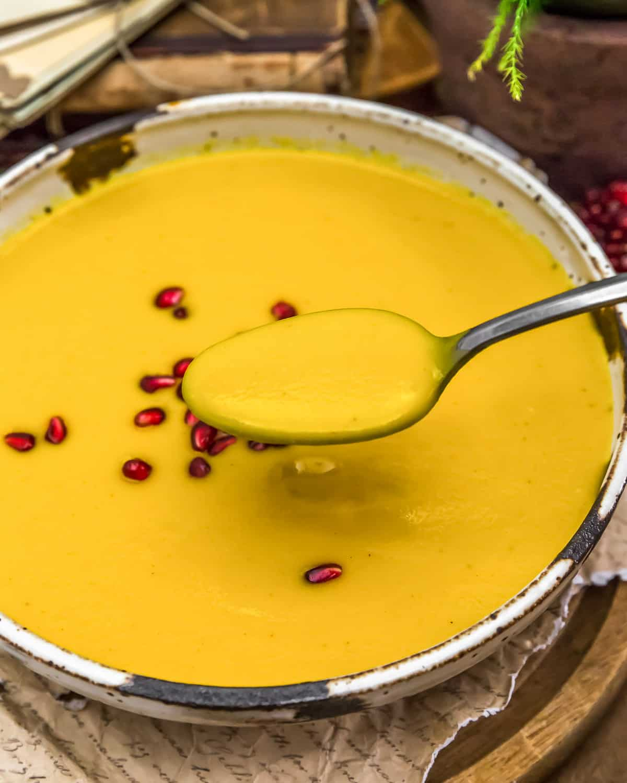 Eating Vegan Creamy Autumn Soup