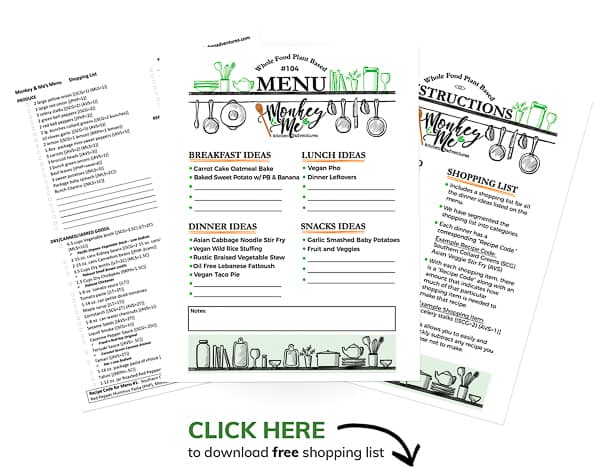 Monkey and Me's Menu 104 PDF Display
