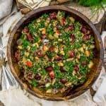 Bowl of Harvest Kale Quinoa Salad