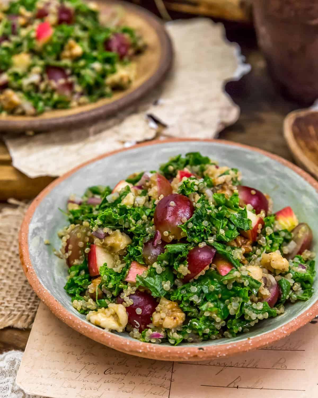 Served Harvest Kale Quinoa Salad