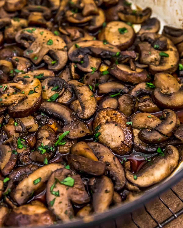 Simple Herbed Mushrooms