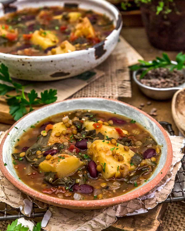 Served Aladdin's Copycat Len-Chili Soup