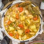 Butter Bean Potato Soup