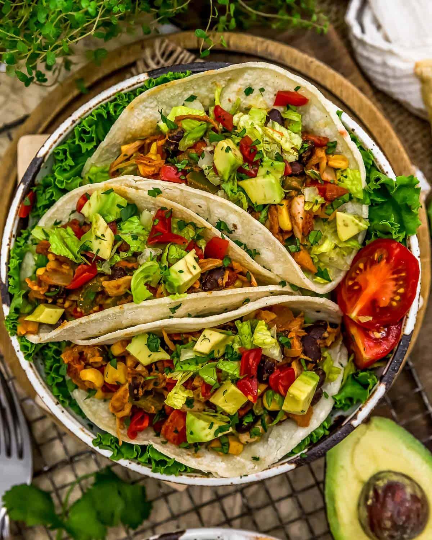 Southwestern Jackfruit Tacos