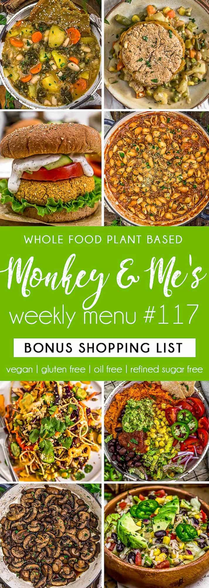 Monkey and Me's Menu 117 featuring 8 recipes