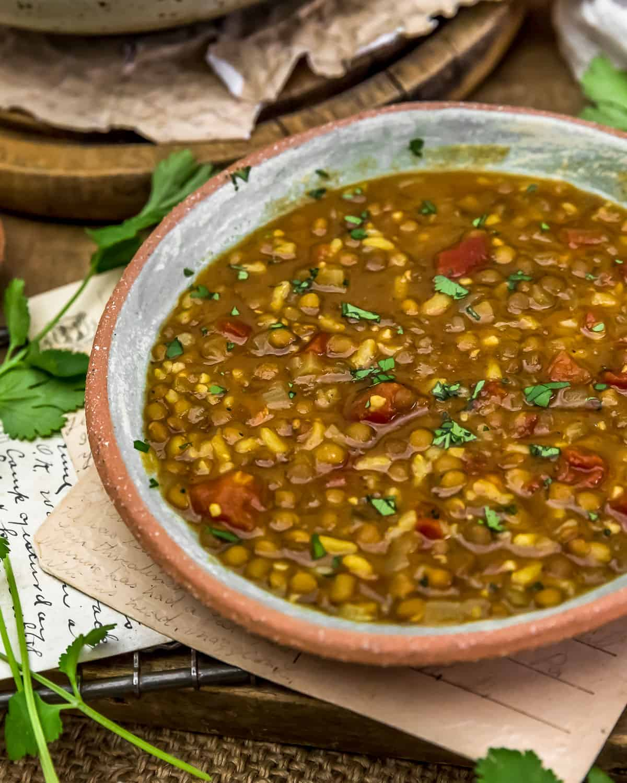 Bowl of Persian Lentil Soup