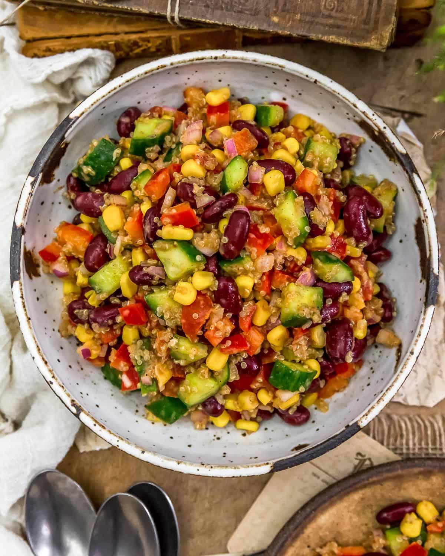 Bowl of Tex-Mex Quinoa Salad