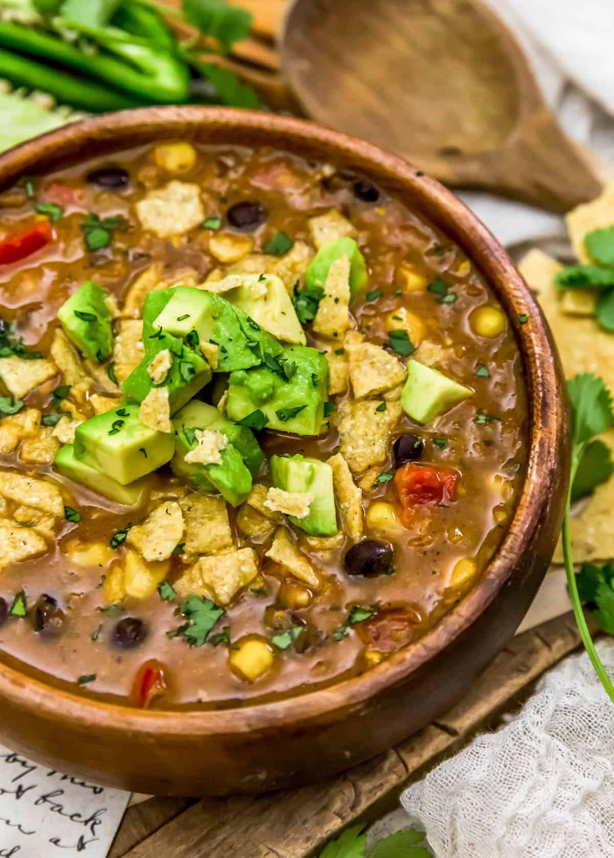 Vegan Nacho Soup