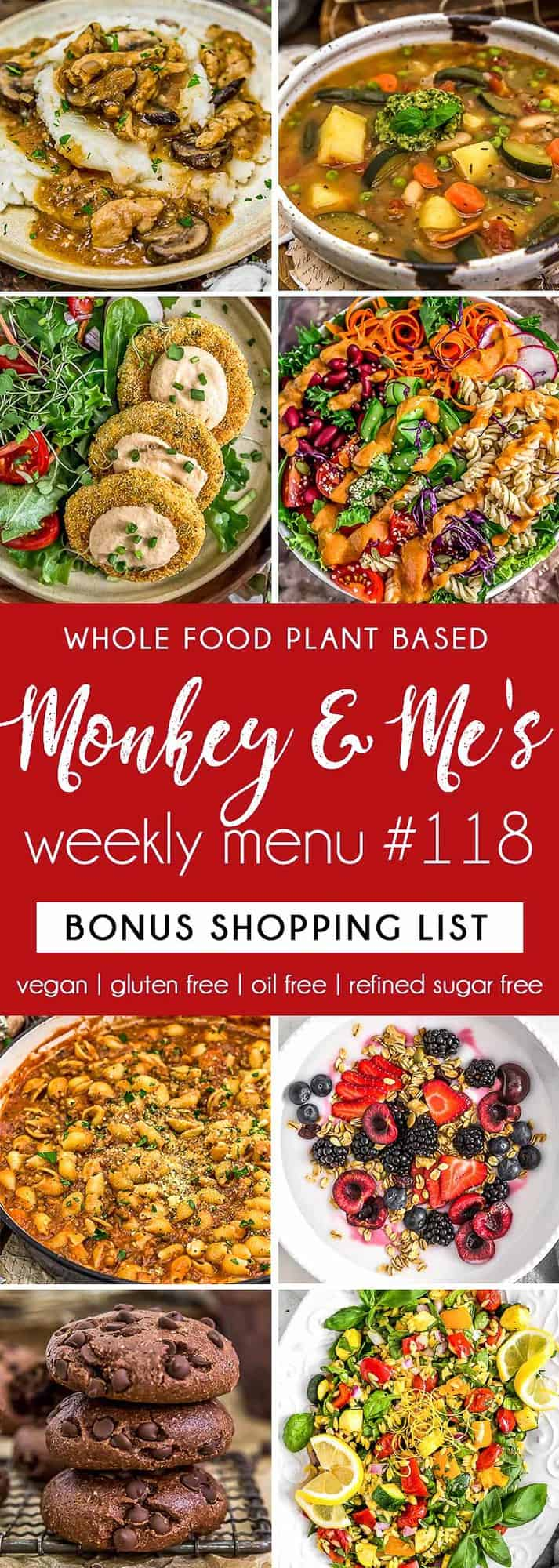 Monkey and Me's Menu 118 featuring 8 recipes
