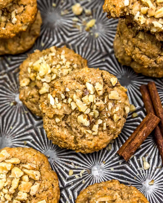 Vegan Banana Nut Bread Cookies
