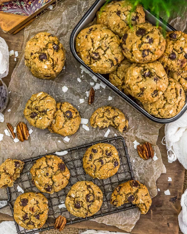 Tablescape of VeganNeiman Marcus Cookies