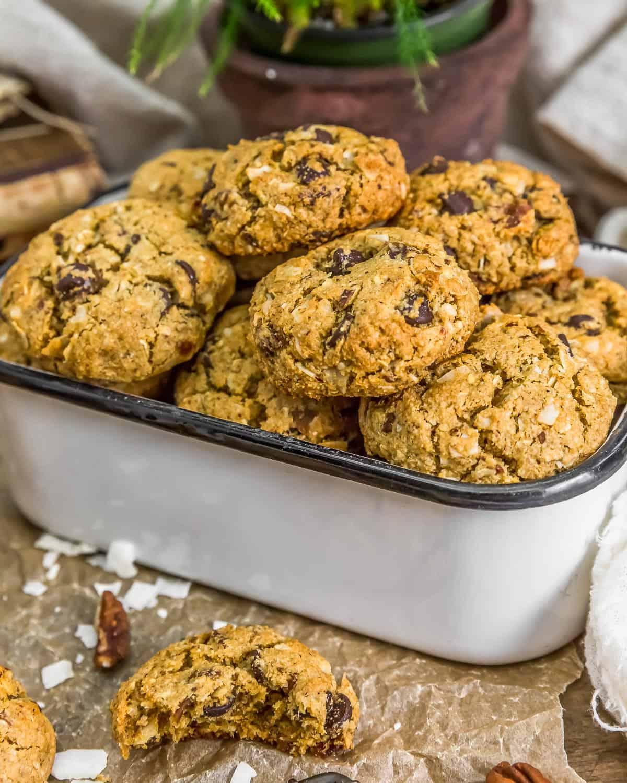 Container of VeganNeiman Marcus Cookies