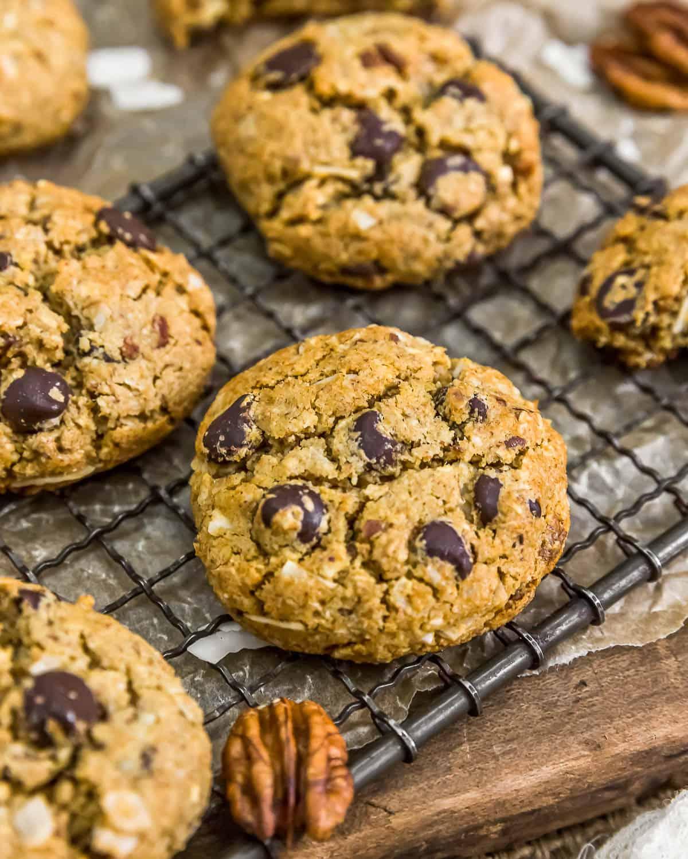 Close up of VeganNeiman Marcus Cookies