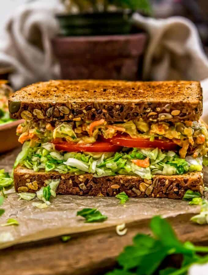 Sandwich with Veggie Sandwich Spread