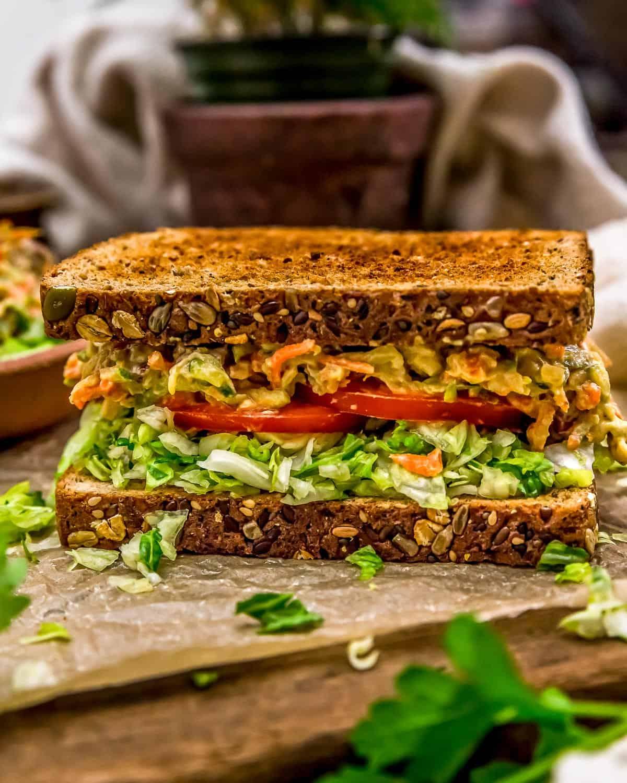 Sandwich with Veggie Sandwich Spread