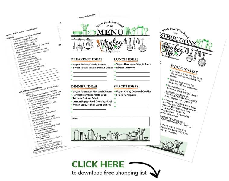 Monkey and Me's Menu 120 PDF Display