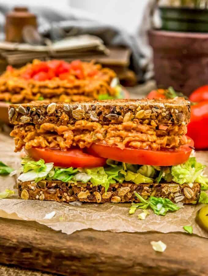Jalapeño Bean Sandwich Spread