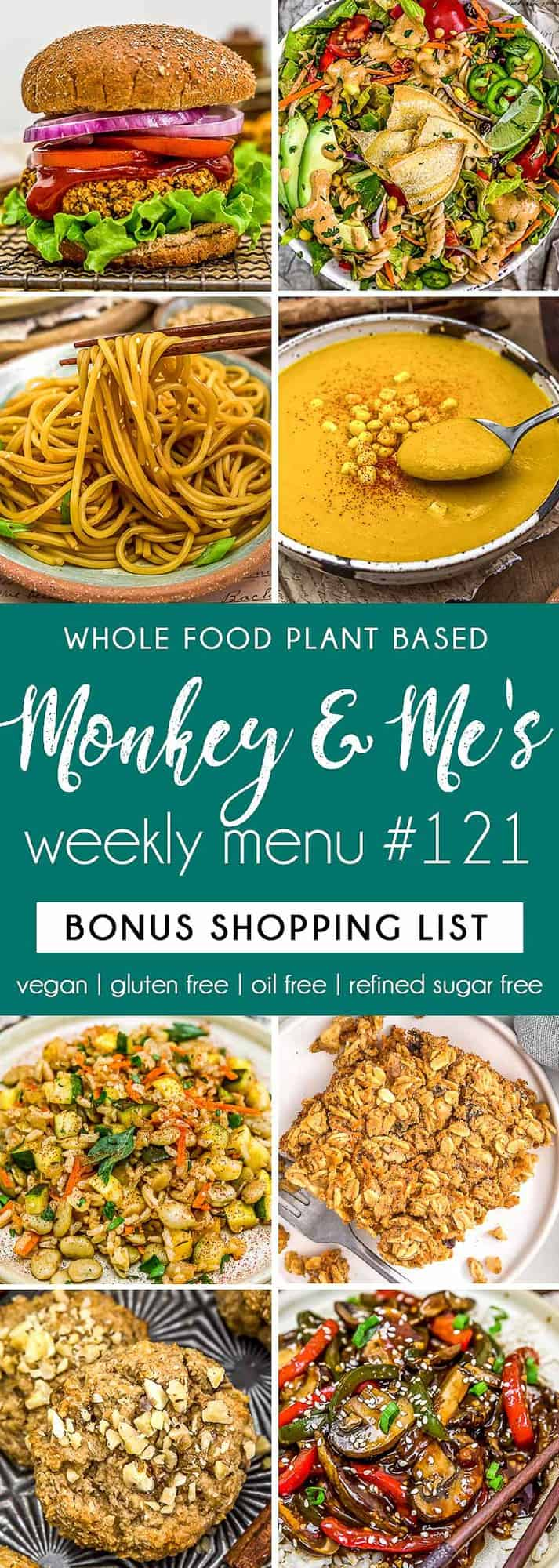 Monkey and Me's Menu 122 featuring 8 recipes