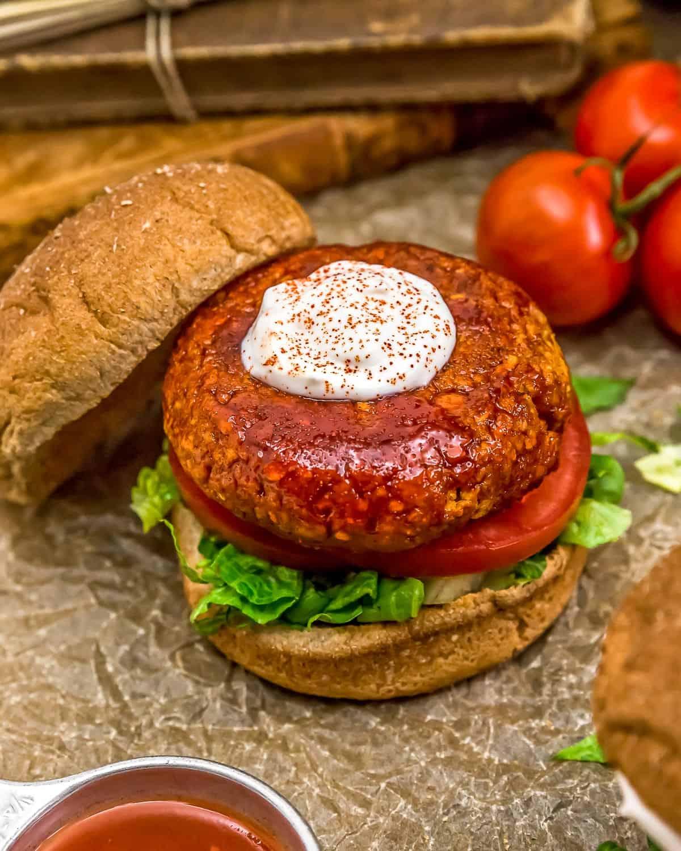 Vegan Firecracker Burgers