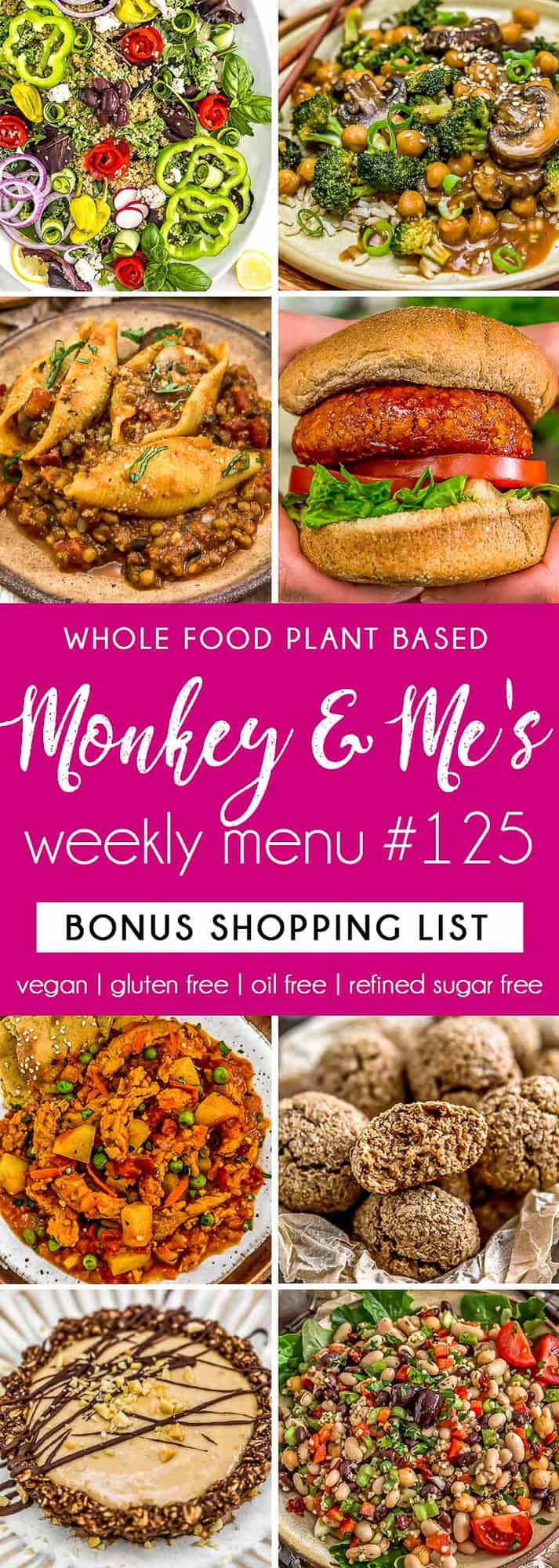 Monkey and Me's Menu 125 featuring 8 recipes