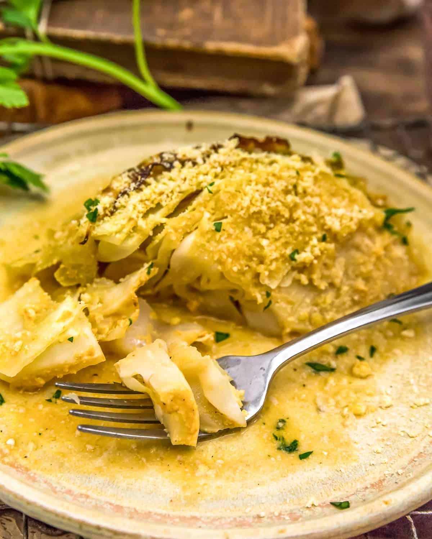 Vegan Italian Parmesan Cabbage Wedges