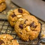 Vegan Snickers Cookies