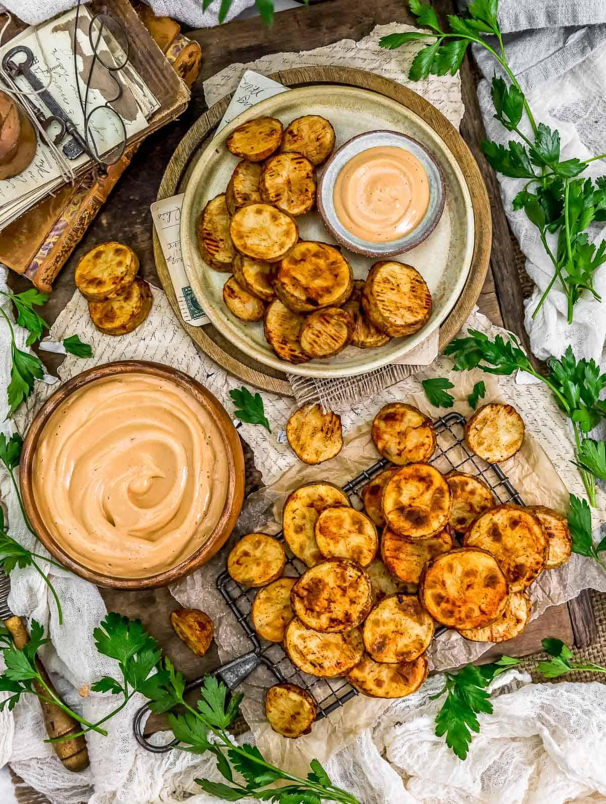 Tablescape Vegan Fry Sauce