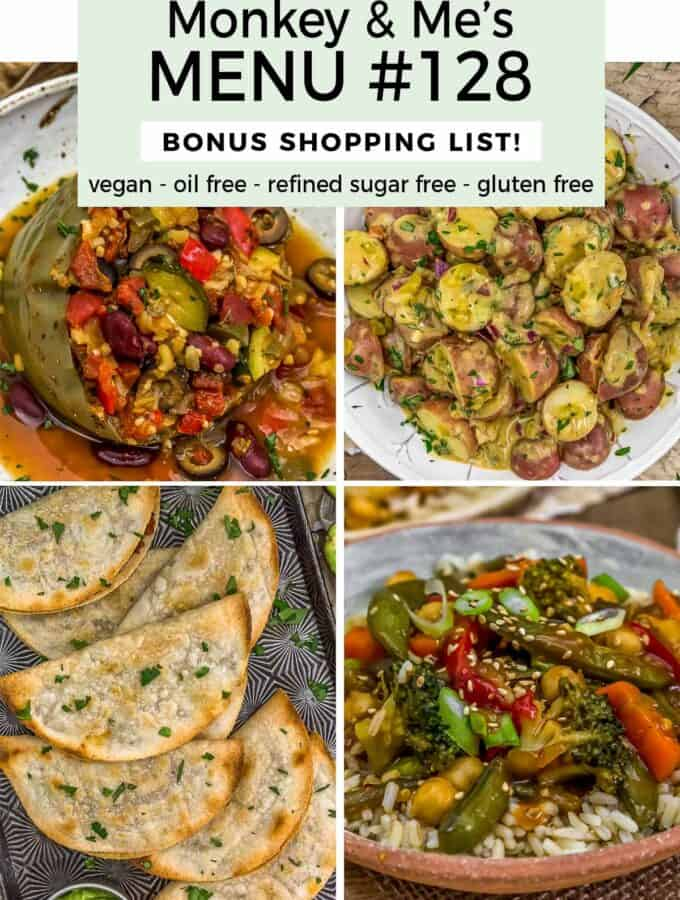 Monkey and Me's Menu 128 featuring 4 recipes