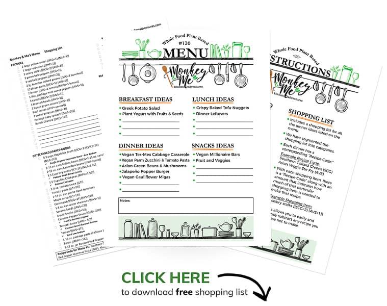 Monkey and Me's Menu 130 PDF Display