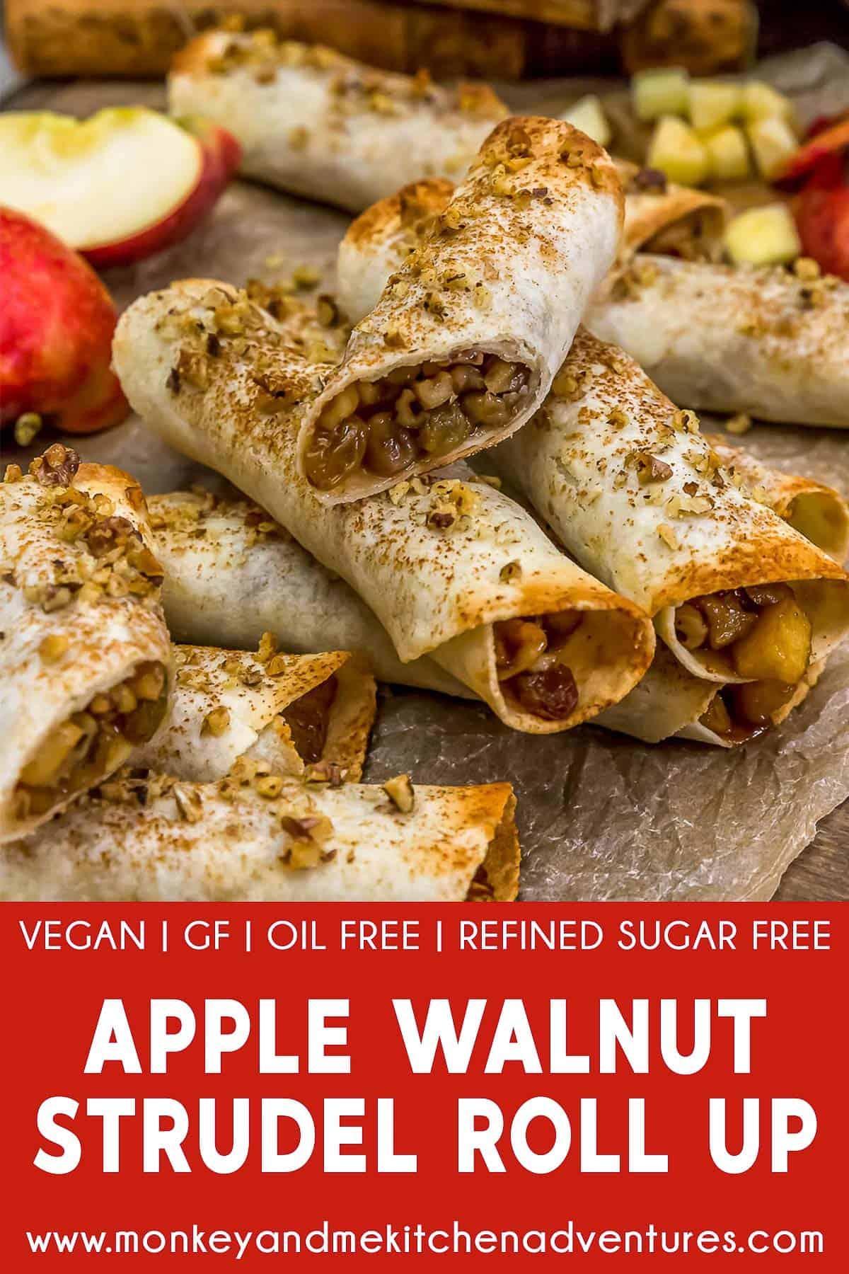 Apple Walnut Strudel Roll-Ups with Text Description