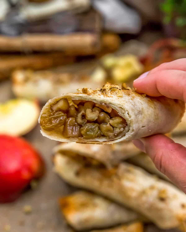 Eating Apple Walnut Strudel Roll-Ups