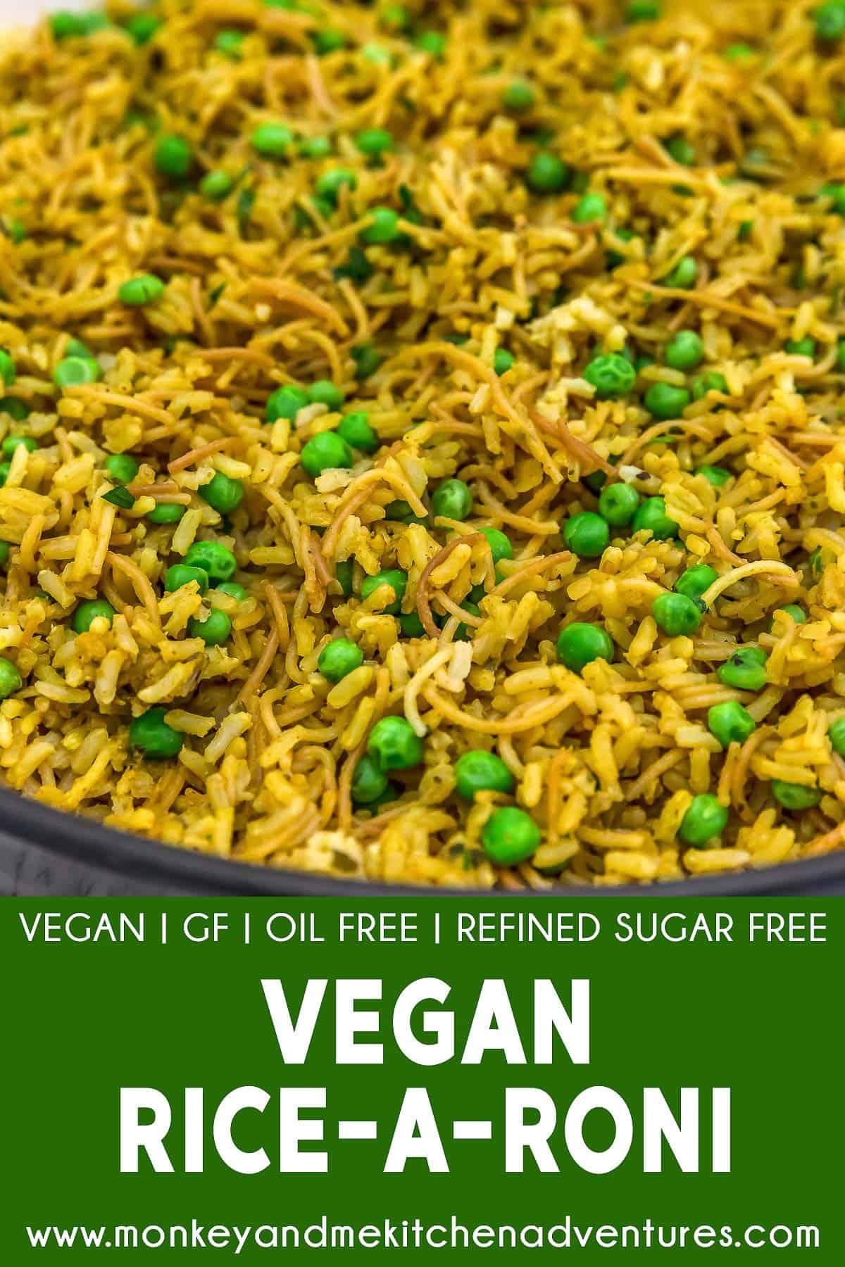 Vegan Rice-A-Roni