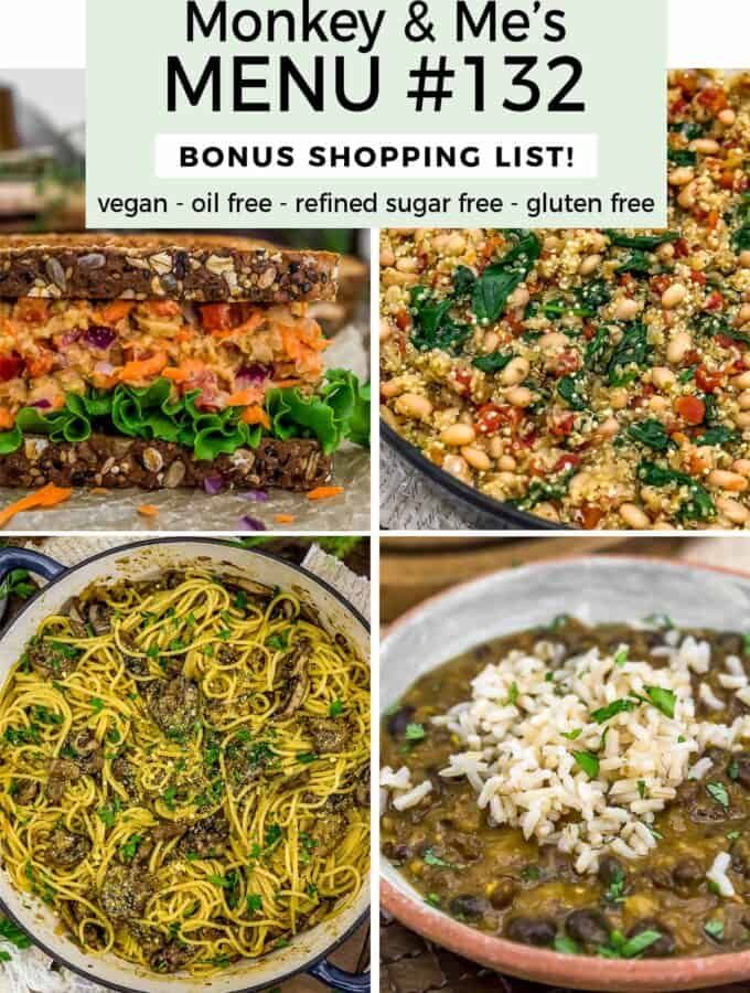 Monkey and Me's Menu 132 featuring 4 recipes